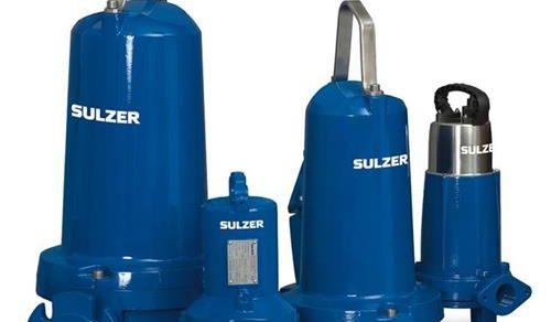 Bomba submersível esgoto SULZER
