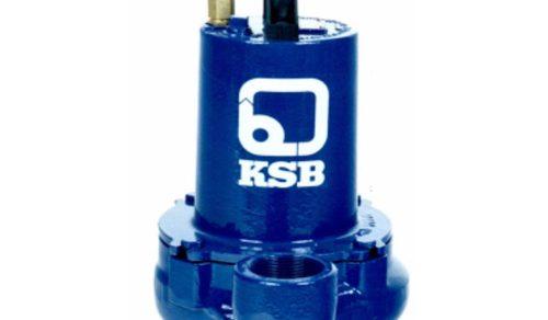 Bombas submersíveis esgoto e água servida