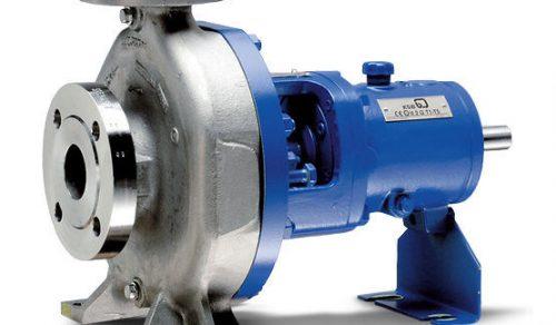 Bomba centrifuga mancalizada MEGACPK INOX