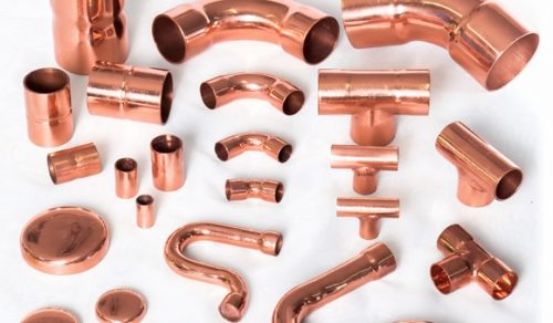tubos e conexões de cobre solda