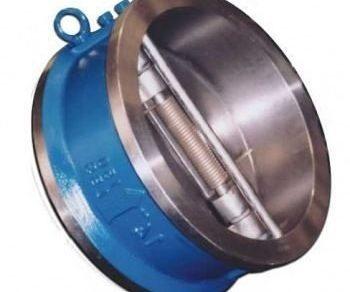 Válvula retenção dupla portinhola   Norma ANSI ferro fundido