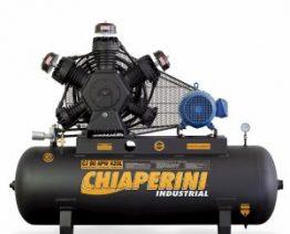 COMPRESSOR DE AR ALTA PRESSAO 175 LBS 80 PCM, 425 LITROS 80 PÉS MONOF. 220 V - TRIF. 380V - MODELO CJ 80APW 425 L - CHIAPERINI
