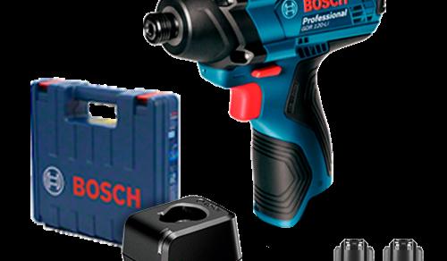 Chave de Impacto a Bateria de ¼ Bosch GDR 120-LI, 100Nm, 12V