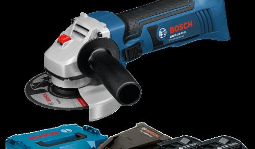 Esmerilhadeira Angular a Bateria de 4 ½ Bosch GWS 18 V-LI, 18V