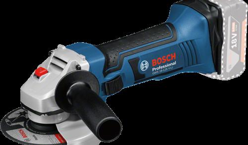 Esmerilhadeira Angular a Bateria de 5 Bosch GWS 18-125V-LI, 18V