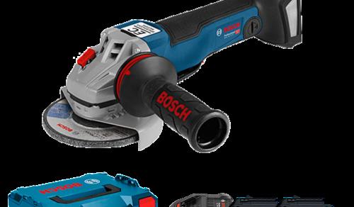 Esmerilhadeira Angular a Bateria de 5 Bosch GWS 18V-10 PC ProCORE, 18V