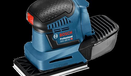 Lixadeira a Bateria Bosch GSS 18V-10, 18V