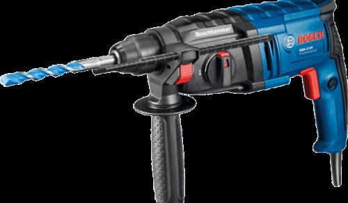 Martelete Perfurador Bosch GBH 2-20 650W 1,7J EPTA 220V em Maleta plástica. Professional