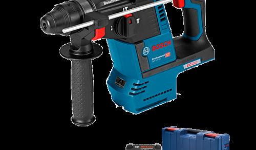 Martelete Perfurador Demolidor a Bateria Bosch GBH 18V-26 SDS-plus,18V, 2,6J EPTA