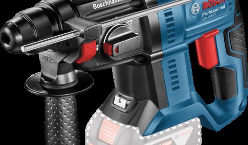 Martelete Perfurador a Bateria Bosch GBH 180-LI SDS-Plus, 18V