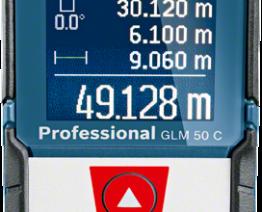 Medidor de 50 metros com Bluetooth Bosch GLM 50 C