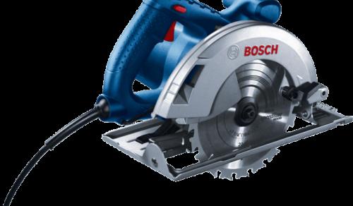 Serra Circular Bosch GKS 20-65 2000W 127V com 1 Disco de serra e Guia paralelo Professional