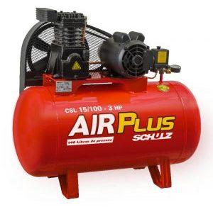COMPRESSOR ALTA PRESSAO 175 LBS AIR PLUS CSL 15-100 LTS
