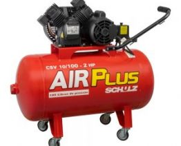 COMPRESSOR MEDIA PRESSAO 140 LBS AIR PLUS CSV 10-100 LTS