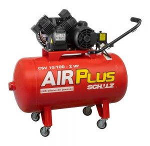 COMPRESSOR MEDIA PRESSAO 140 LBS AIR PLUS CSV 10-100 LTS