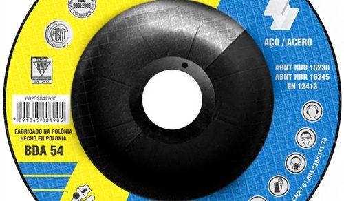 DISCO DE DESBASTE 4.1.2'' 100 X 5.0 X 15.87 mm BDA 54 NORTON
