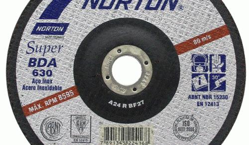 DISCO DE DESBASTE 7'' 178 X 6.4 X 22.2 mm BDA 630 NORTON