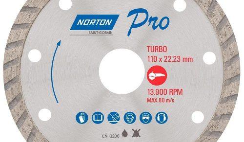 DISCO DIAMANTADO 4.3.8 '' TURBO PRO NORTON
