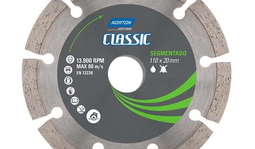DISCO DIAMANTADO SEGMENTADO 4.3.8 '' CLASSIC NORTON