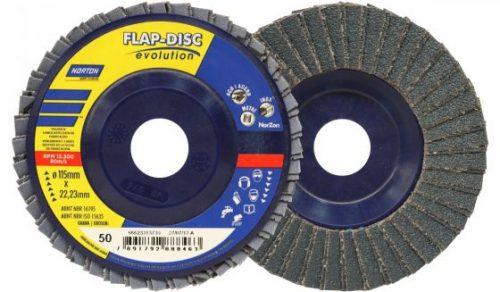 DISCO FLAP LIXA 4.1.2 '' 115X 22.23 mm GRAO 50 NORTON