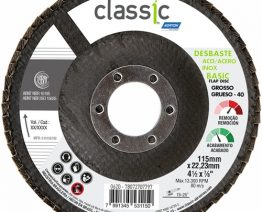 DISCO FLAP LIXA CLASSIC 4.1.2 '' GROSSO NORTON