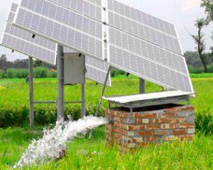 Energia Solar no bombeamento de água